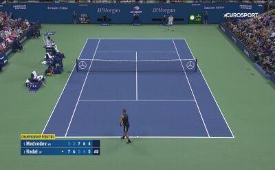 Piłka meczowa w męskim finale US Open 2019