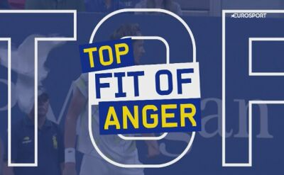 TOP 5 wściekłych tenisistów podczas US Open