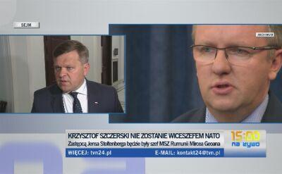 Skurkiewicz: cieszymy się, że jest Rumun wiceszefem