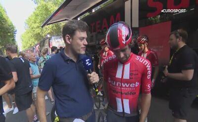 Michael Matthews po 11. etapie Tour de France