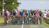 Z szosy do rowu. Kolejny wypadek w końcówce 11. etapu Tour de France