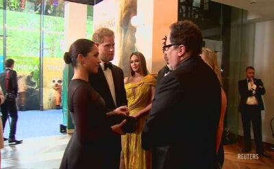 Brytyjska para książęca spotkała się z najsłynniejszą parą amerykańskiego showbiznesu