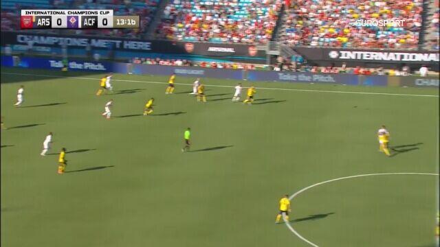 Skrót meczu Arsenal - Fiorentina w turnieju ICC