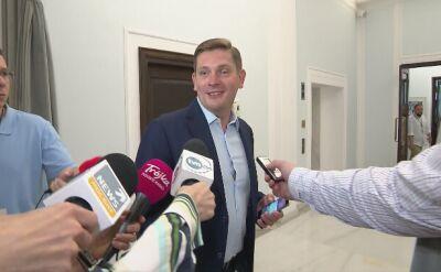 Kownacki unikał komentarza w sprawie swojej nominacji