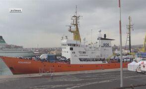 Ponad 600 imigrantów przybyło do Włoch na pokładzie statku Aquarius