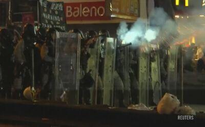 Znów starcia w Hongkongu. Policja użyła gazu łzawiącego
