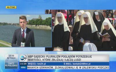 Abp Gądecki: Pluralizm poglądów potrzebuje wartości, które zbliżają i łączą ludzi