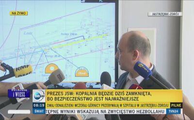Konferencja w kopalni Zofiówka
