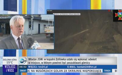 Siódma doba poszukiwań górników w Zofiówce