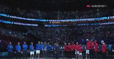 Dekoracja po Laver Cup 2021