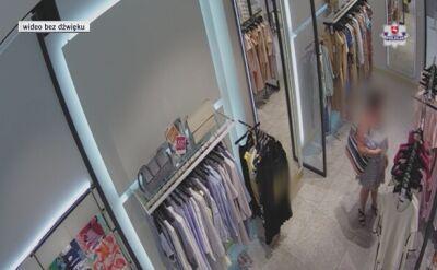 Kradzież sukienki obejrzała w sieci. Sam zgłosiła się na policję