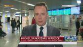 Saakaszwili wylądował na lotnisku Chopina