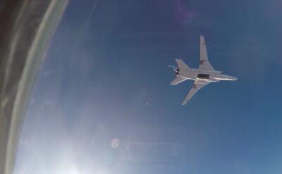 Rosyjskie bombowce Tu-22M3 zrzucają bomby na Syrię