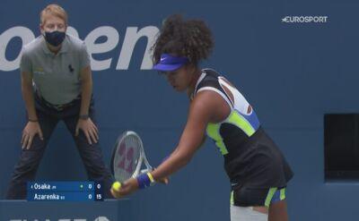 Skrót meczu Wiktoria Azarenka - Naomi Osaka w finale US Open