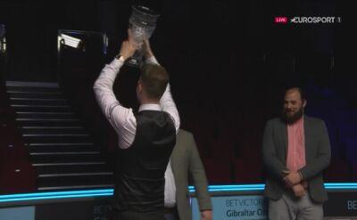 Judd Trump podziękował pustym trybunom w Gibraltar Open