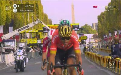 Maximilian Schachmann wygrał lotną premię na ostatnim etapie Tour de France