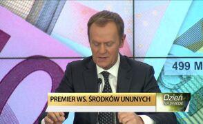 Tusk: Powinniśmy uzyskać 80 proc. średniej w Unii Europejskiej, jeśli chodzi o PKB