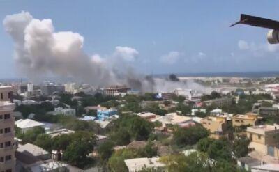 Atak bombowy w stolicy Somalii