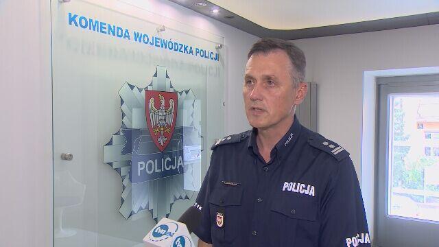 Policja o zachowaniu kierowcy w Lesznie