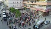 Manifestacja solidarności z członkami Marszu Równości z Białegostoku