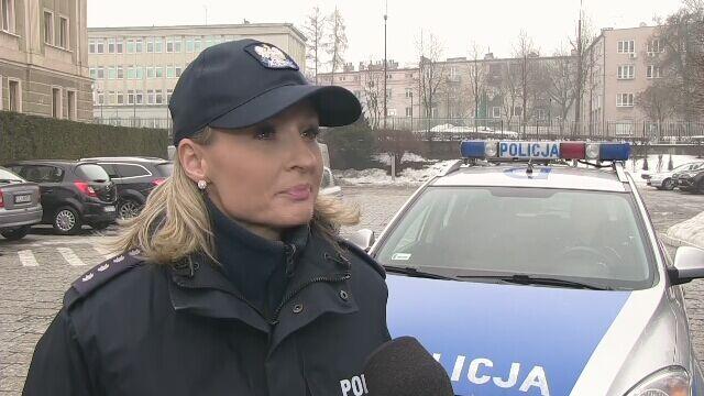 Rzeczniczka Komendanta Wojewódzkiego Policji w Lublinie o kontroli kierowcy