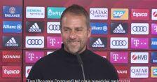 Tymczasowy trener Bayernu Monachium Hansi Flick przed meczem z BVB