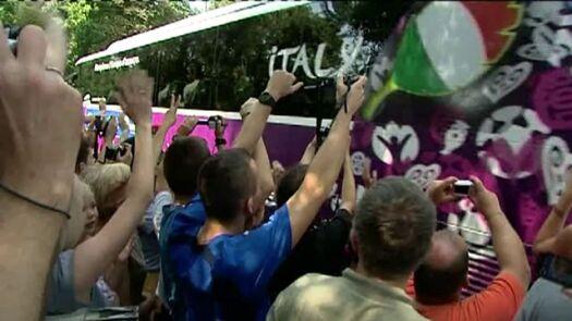 Włosi wyjechali z Wieliczki