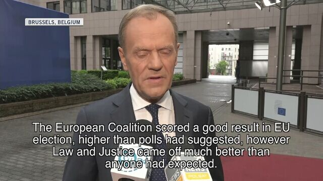 Grzegorz Schetyna said that he would like the coalition for the upcoming elections to be as broad as possible (video from May 28)