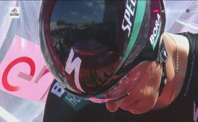 Rafał Majka na ostatnim etapie Giro