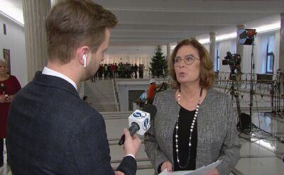 Kidawa-Błońska: klub Koalicji Obywatelskiej złożył wniosek o wyjaśnienia ministra Kamińskiego w Sejmie