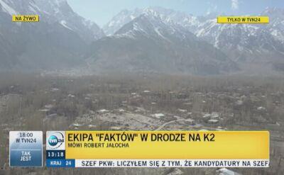 """Ekipa """"Faktów"""" na wysokości 3200 m n.p.m."""