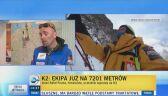 Fronia o szansach polskiej ekipy na zdobycie K2