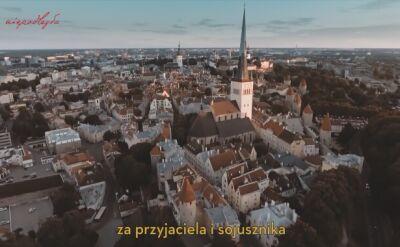 Polskie gratulacje z okazji 100-lecia niepodległości Estonii