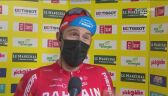 Colbrelli po zwycięstwie na 2. etapie Tour de Romandie