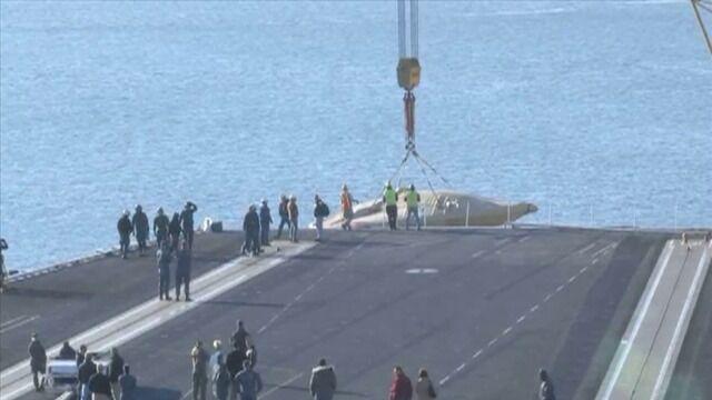 Zwiastun nowej ery. X-47B trafił na lotniskowiec