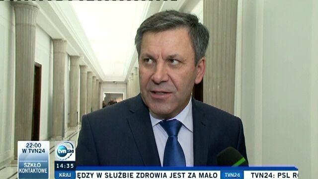 Janusz Piechociński o możliwych scenariuszach zmian w rządzie