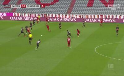 Robert Lewandowski strzelił dwa gole Fortunie Duesseldorf