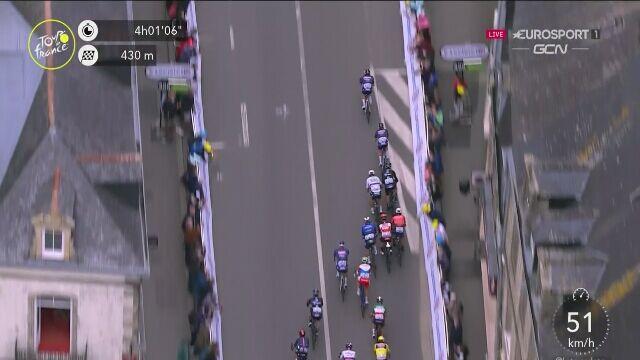 Finisz 3. etapu Tour de France