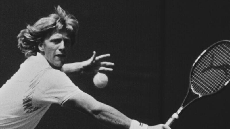 Boris Becker to zwycięzca sześciu turniejów wielkoszlemowych