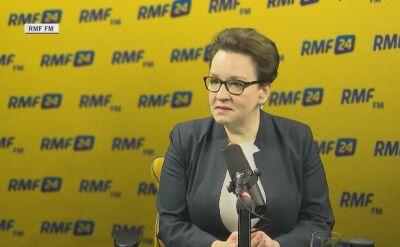 Minister edukacji zaprasza Anję Rubik. Chce rozmawiać o edukacji seksualnej