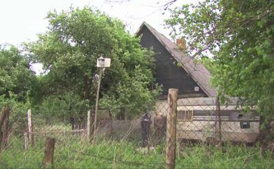 Policjanci przeczesywali teren w poszukiwaniu psów