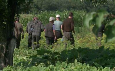Rozmowa z ukraińskimi górnikami, którzy poszukują szczątków samolotu