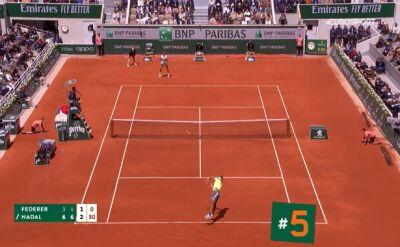 Najlepsze zagrania 13. dnia Roland Garros