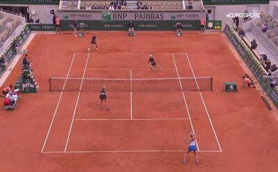 Skrót finału debla kobiet Roland Garros