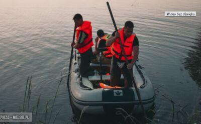 Mężczyzna utopił się w zbiorniku Topola
