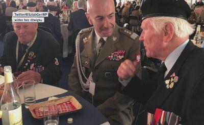Z weteranami II wojny światowej spotkali się m.in. książę Karol i gen. Rajmund Andrzejczak