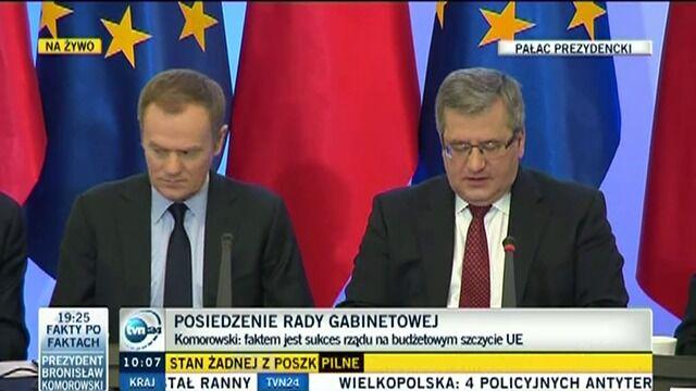 """""""Istnieją poważne przesłanki skłaniające do myślenia o wejściu do strefy euro"""""""
