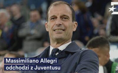Allegri odejdzie z Juventusu
