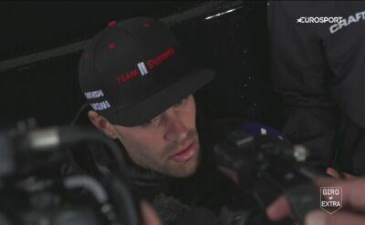 Tom Dumoulin wytłumaczył powody wycofania się z Giro