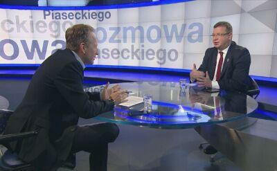 Michał Wójcik: jest zero tolerancji, niezależnie od tego, z jakiego środowiska pochodzi przestępca